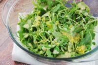 lemon parmesan arugula salad