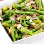 Warm Mushroom and Asparagus Salad Recipe – 2 Points