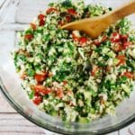 Low Carb Cauliflower Tabbouleh Recipe – 4 Points