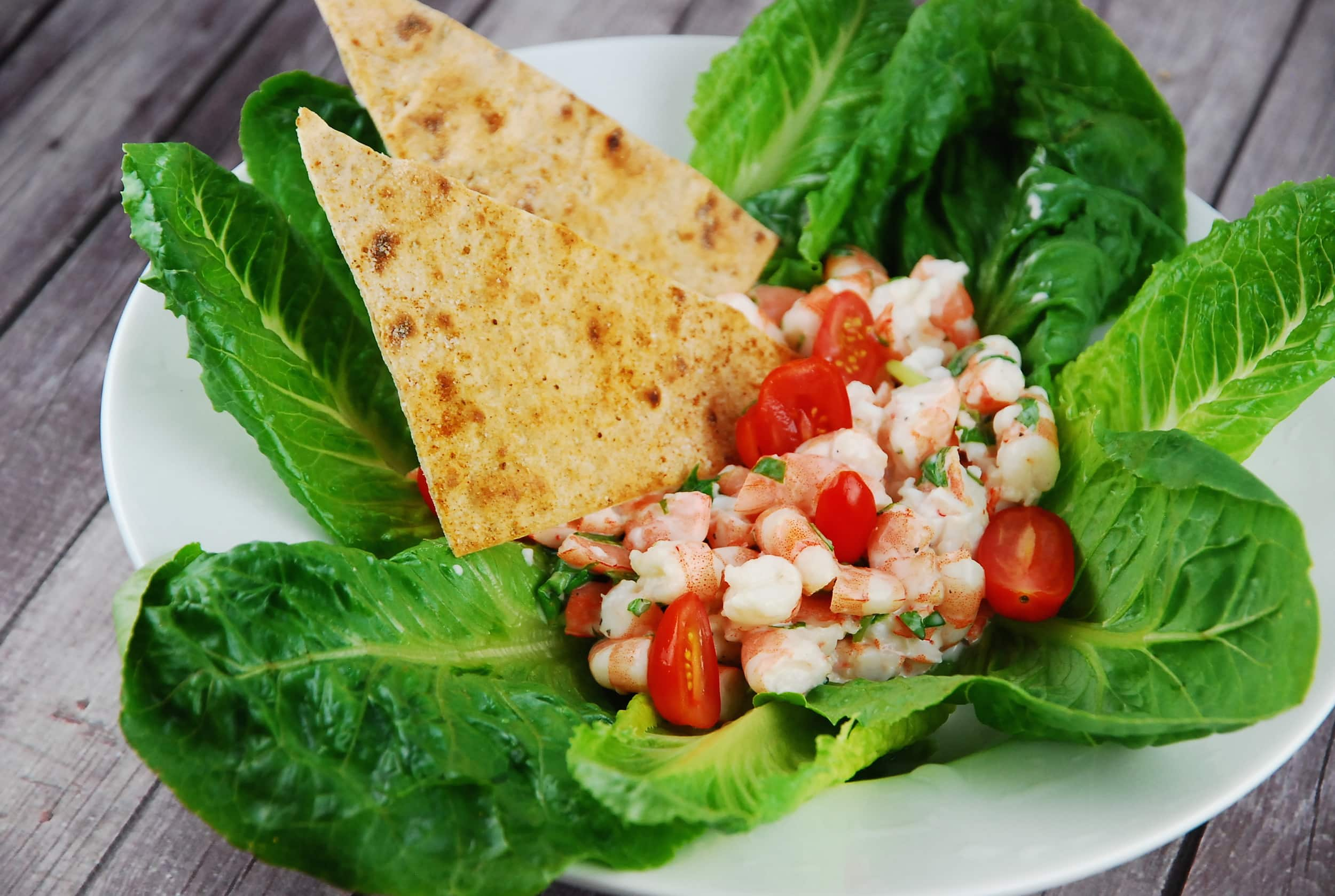 Creamy Shrimp Salad Recipe - 5 Points + - LaaLoosh