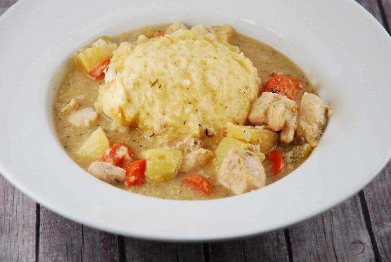 crock pot chicken and dumpling soup