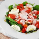 Smoked Salmon and Lentil Salad – 7 Points