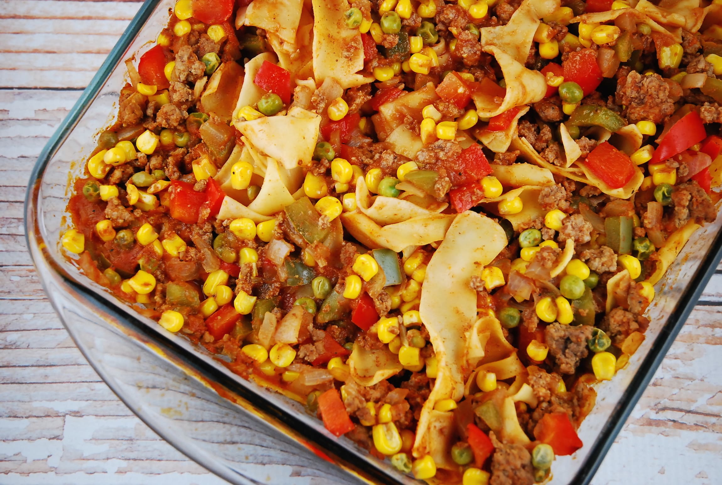 Ground Beef And Noodle Casserole Recipe 8 Points Laaloosh