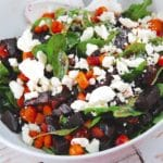Roasted Beet and Carrot Salad with Feta – 3 Points