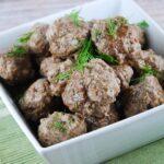 Ranch Meatballs Recipe – 5 Points