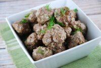 ranch seasoned beef meatballs