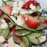 Cucumber & Strawberry Salad – 3 Points