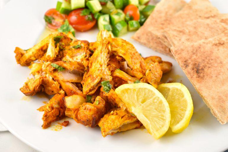Oven Roasted Chicken Shawarma