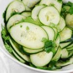 Cilantro Lime Cucumber Salad Recipe – 2 Points