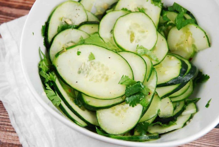 Cilantro-Lime Cucumber Salad | Fresh Spring Salad Ideas To Savor This Season
