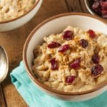Cranberry & Coconut Breakfast Risotto – 9 Points