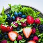 Berry & Arugula Salad – 3 Points