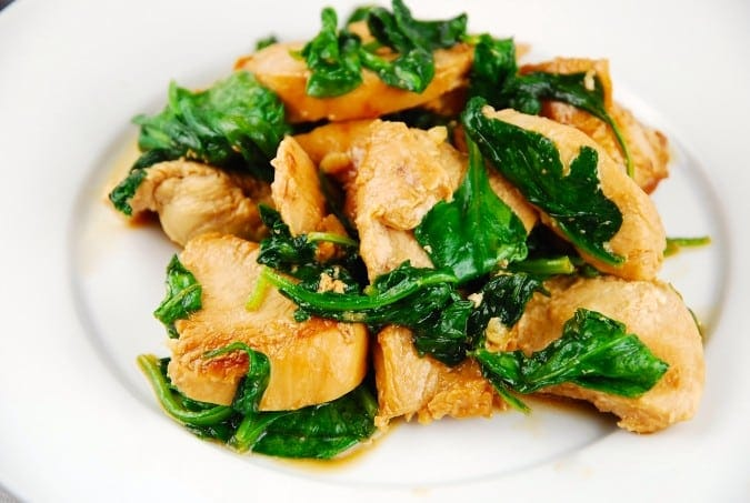 Chicken is perhaps the most popular meat to pair with a Dijon marinade, but it works equally well with pork, fish, or vegetables. Need another excuse to try this marinade? It contains coriander, which you should really have in your kitchen.