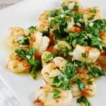 Roasted Garlic Cilantro Shrimp Recipe – 7 Points