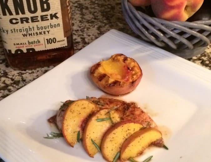 BBQ peach bourbon chicken 2