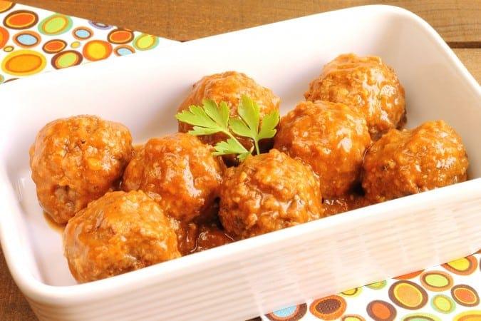 Cranberry Meatballs