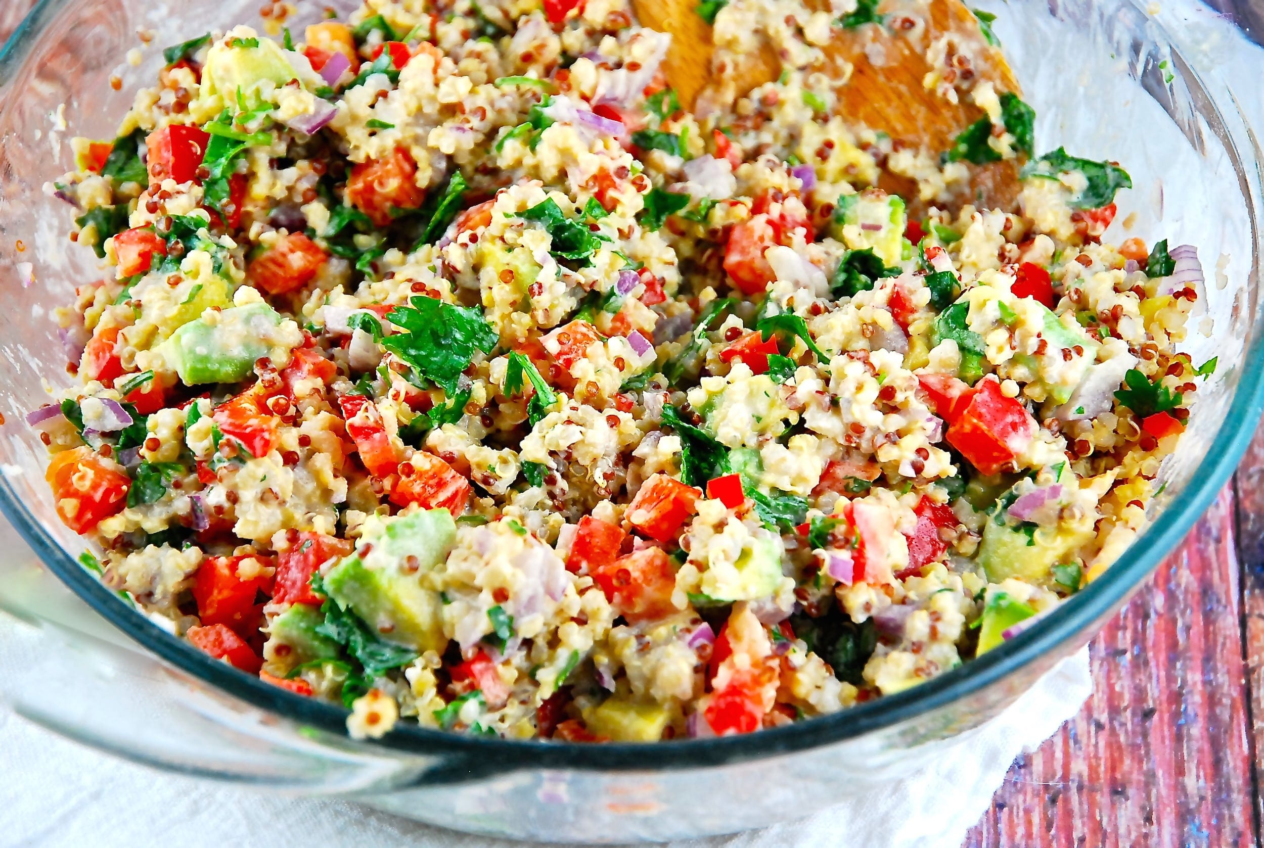 Quinoa Salad With Tahini 6 Points Laaloosh