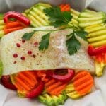 Halibut En Papillote – 6 Points