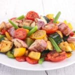 Lemon Pepper Vegetables – 1 Point