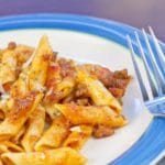 Penne with Roasted Red Pepper Ragu – 9 Points