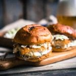 Asian Burgers with Spicy Coleslaw – 9 Points