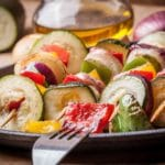 Asian Marinated Vegetable Skewers – 2 Points