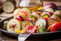 Asian Vegetable Skewers