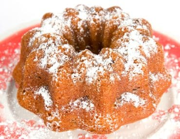 Ginger Walnut Bundt Cake