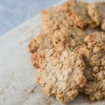 Peanut Butter Oatmeal Cookies – 2 Points