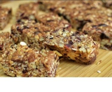 Peanut Butter Power Bars1
