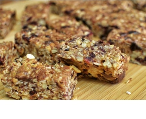 Peanut Butter Power Bars
