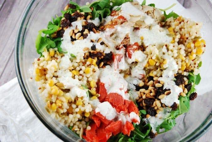 Arugula and Smoked Salmon Salad