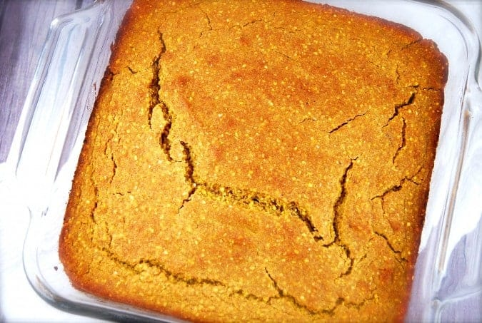 Pumpkin Cornbread Recipe - 4 Points + - LaaLoosh