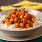 Chickpea Curry with Cauliflower Rice – 7 Points