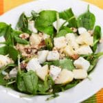 Spinach & Pear Salad – 6 Points