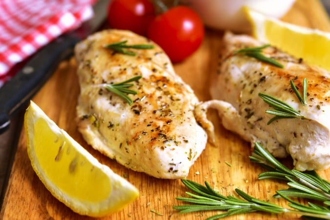 Lemon Glazed Greek Chicken