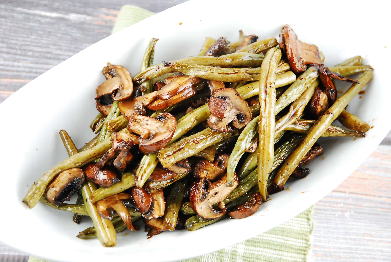 Easy green bean recipes balsamic
