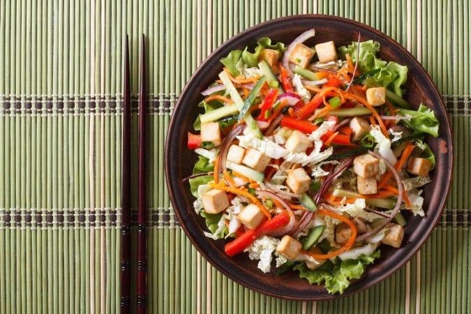 Asian Salad With Tofu