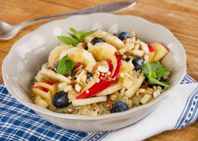 Breakfast Quinoa with Fruit