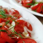 Marinated Tomatoes – 4 Smart Points