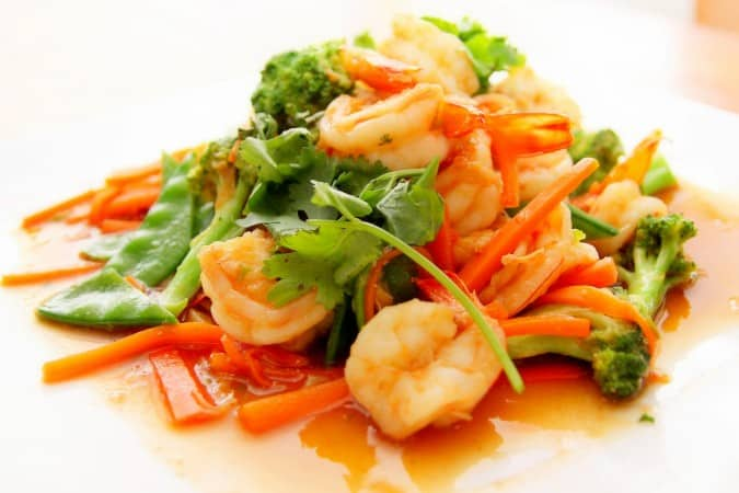 Asian Shrimp Stir Fry