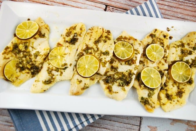 cilantro lime baked sole