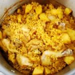 One Pot Moroccan Chicken Rice and Potatoes Recipe – 9 Smart Points