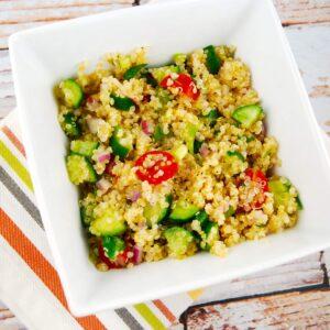 quinoa cucumber tomato salad