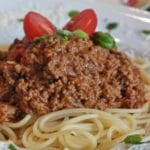 Spaghetti with Ragu – 7 Smart Points