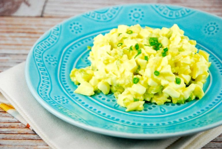 basic egg white salad