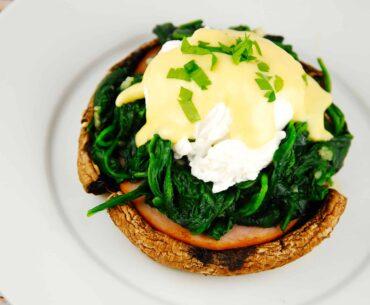 portobello eggs benedict