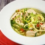 Chicken Zoodle Soup Recipe – 3 Smart Points