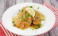 creamy lemon parmesan chicken piccata