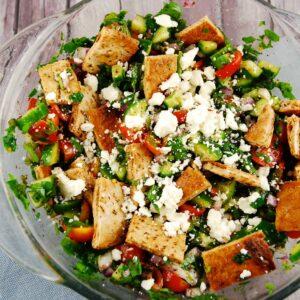 arabic fattoush salad